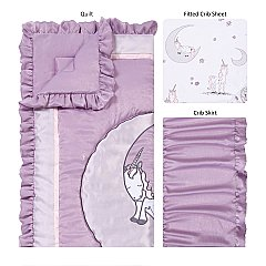 Trend Lab Unicorn Dreams 3 Piece Crib Bedding Set  6 reviews