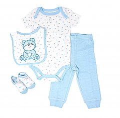 Rose Textiles 4 Piece Teddy Bear Clothing Gift Set