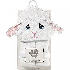 Precious Moments Luffie lamb Hooded Towel