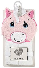 Precious Moments Unicorn Hooded Towel