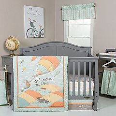 Trend lab Dr. Seuss™ Oh, the Places You'll Go! Unisex 5 Piece Crib Bedding Set