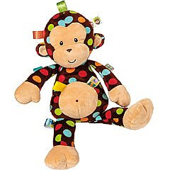 Mary Meyer Taggies Dazzle Dots Big Monkey 18 inches tall