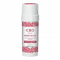PURE Factory naturals acai pomegranate 500 mg CBD body balm