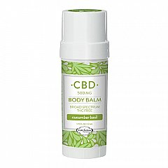PURE Factory naturals 500 mg CBD cucumber basil body balm