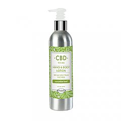 PURE Factory naturals 100 mg CBD cucumber basil body lotion