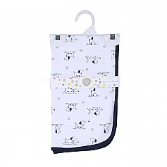 Little Me Puppy Toile Tag-Along Blanket