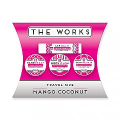 PURE naturals mango coconut works travel gift set