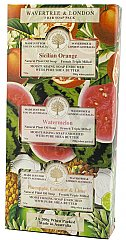 WaveTree and London Fruit Trio Soap Gift set