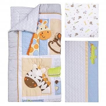 Trend Lab Jungle Fun 6 Piece Crib Bedding Set